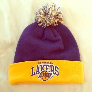 Lakers beanie
